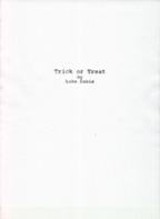 Trick or Treat title page